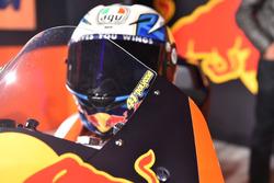 Detalle de moto de Pol Espargaro, Red Bull KTM Factory Racing