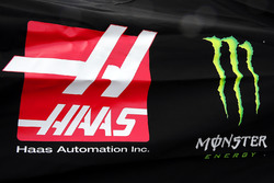 Logos: Haas Automation, Monster Energy