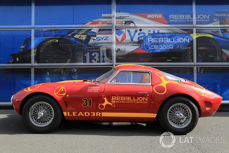Olditmer im Design von Rebellion Racing