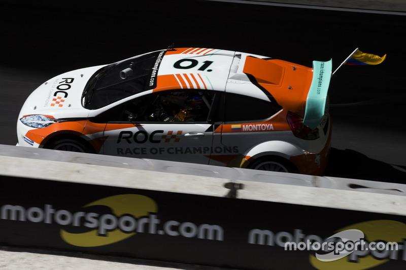 Juan Pablo Montoya, conduc el RX Supercar Lite