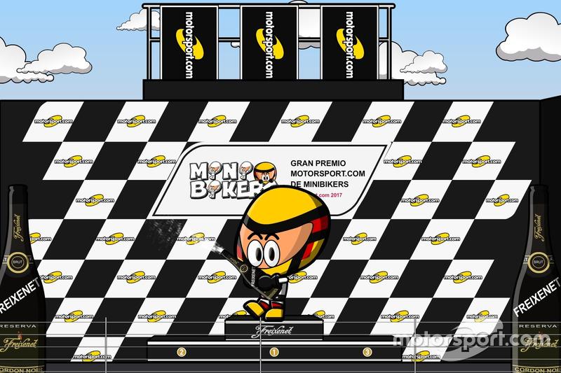 Los MiniBikers y Motorsport.com, juntos en la temporada 2017 de MotoGP