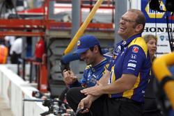 Alexander Rossi, Herta - Andretti Autosport Honda and crew