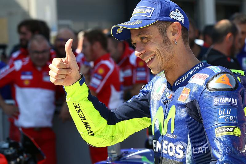 Apesar de assumir que está sentindo dores na moto, o piloto italiano crê que poderá competir sem problemas neste domingo.