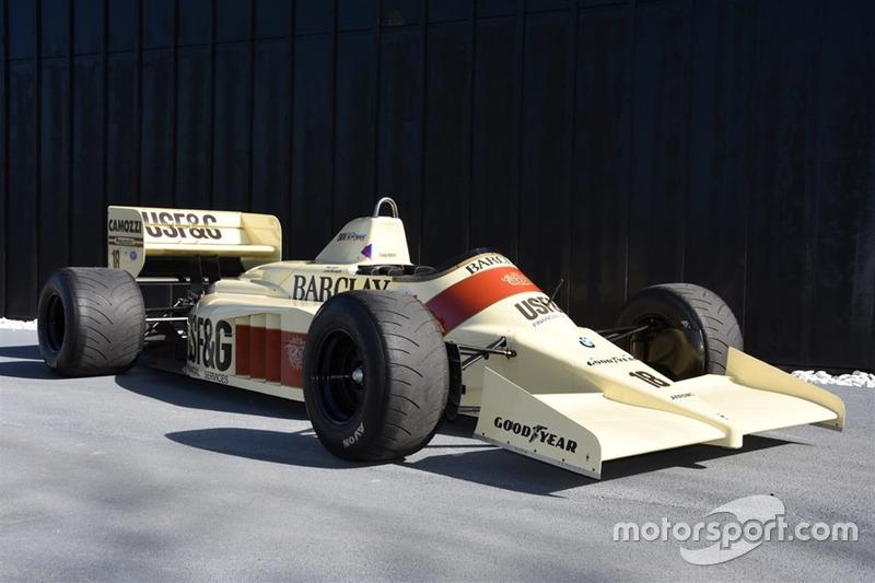 Arrows A9. Сезон: 1986. Цена: 175 000 фунтов (13,4 миллиона рублей)