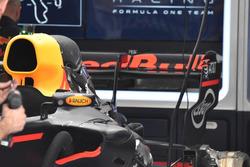 Max Verstappen, Red Bull Racing RB13: Heckflügel