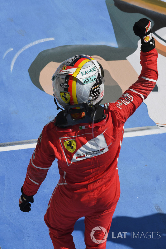Переможець Себастьян Феттель, Ferrari