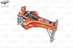 Ferrari F2005 (656) 2005 chassis and front suspension