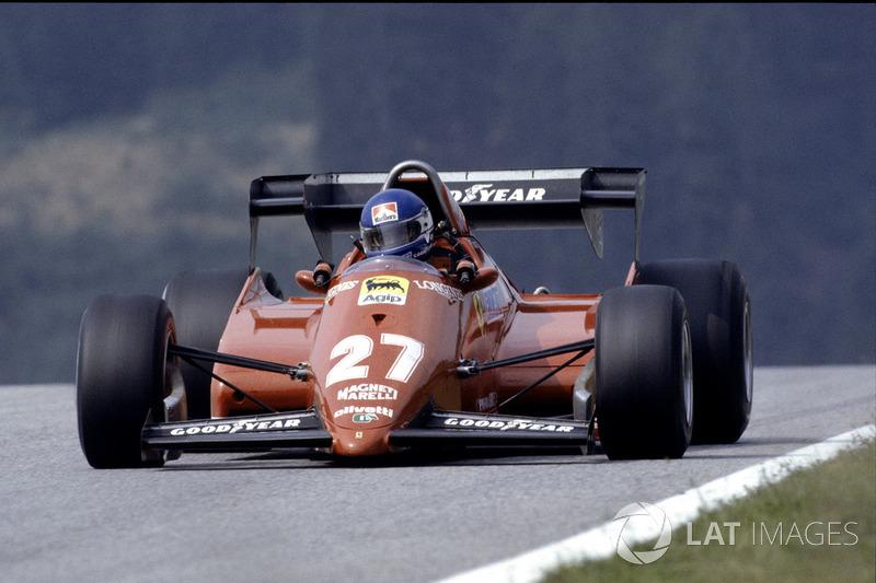 #18: Patrick Tambay, Ferrari 126C3, Kyalami 1983: 1:06,554