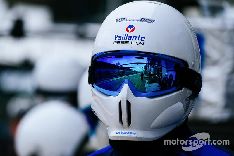 Vaillante Rebellion Racing miembros de equipo