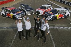 Toomas Heikkinen, EKS, Audi S1 EKS RX Quattro, Reinis Nitiss, EKS, Audi S1 EKS RX Quattro, Nico Müller, EKS, Audi S1 EKS RX Quattro, Mattias Ekström, EKS, Audi S1 EKS RX Quattro