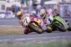 Eddie Lawson, Yamaha, Scott Russell, Kawasaki