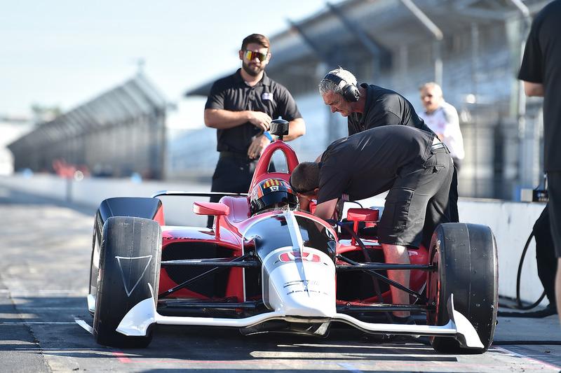 Oriol Servia im IndyCar 2018 von Honda