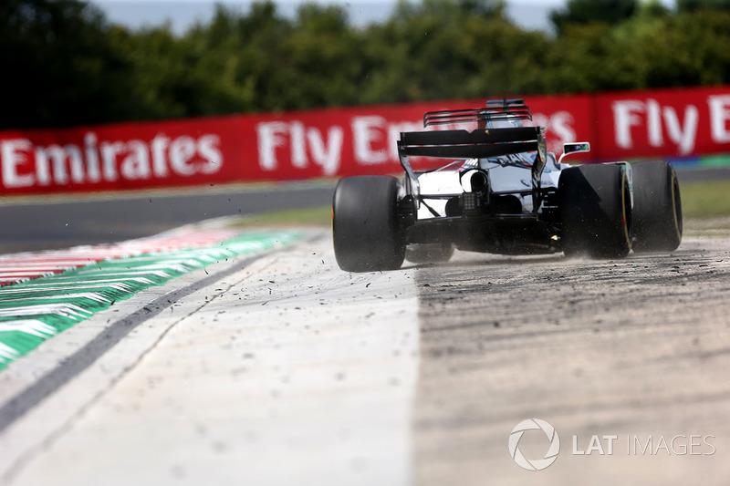 Ausritt: Felipe Massa, Williams FW40
