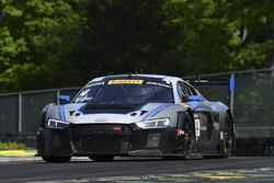 #4 Magnus Racing Audi R8 LMS: Pierre Kaffer, Spencer Pumpelly