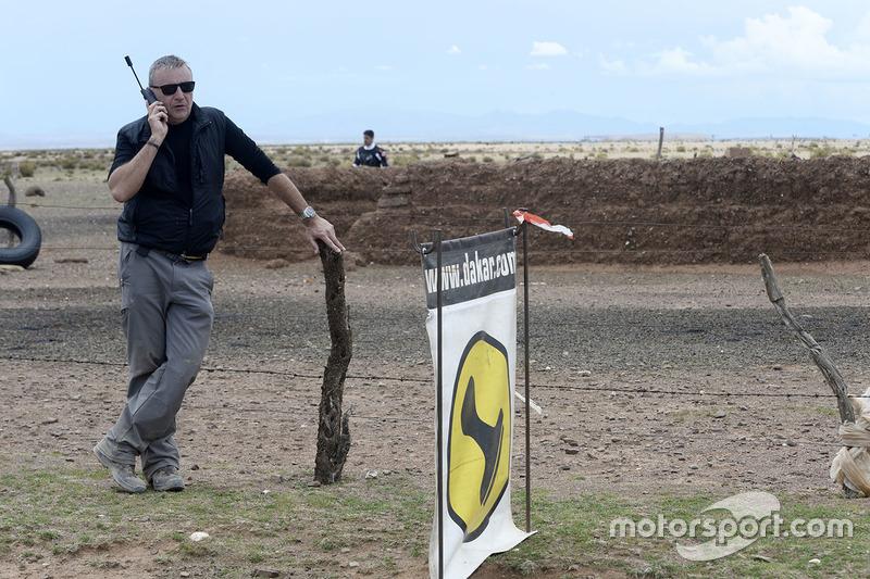 Etienne Lavigne, directeur de course du Dakar