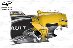 Renault RS17 bargeboards