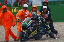 Remy Gardner, Tech 3 Racing, nach Sturz