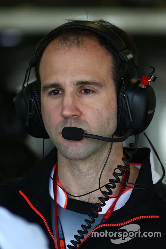 Tom Stallard, McLaren ingenieur
