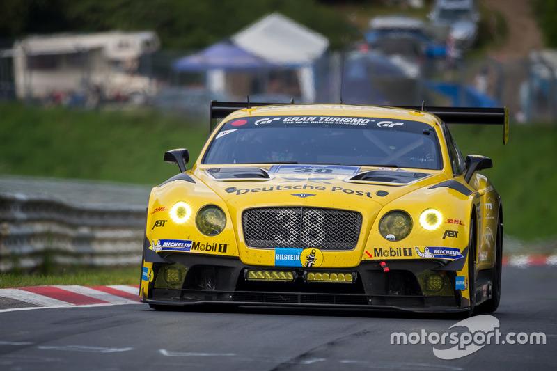 28. #38 Bentley Team Abt, Bentley Continental GT3