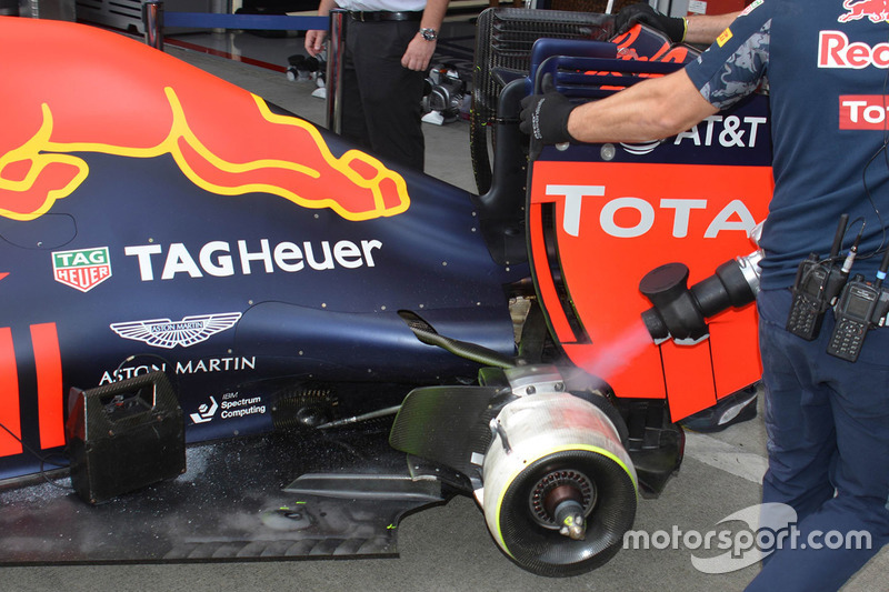 Heckdetail, Red Bull Racing RB12
