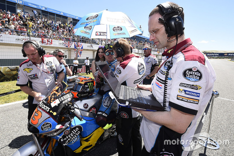 Tito Rabat, Marc VDS Racing Honda on the grid