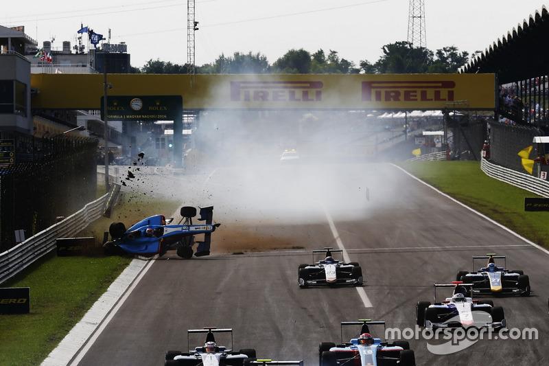 Akash Nandy, Jenzer Motorsport rolls on the start line