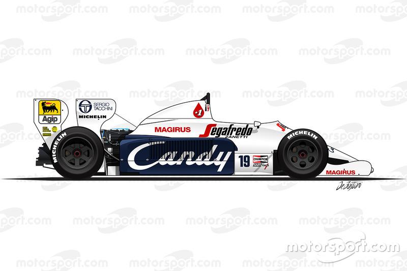 1984 - La Toleman TG184