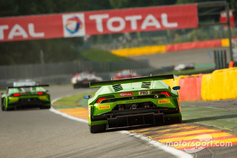 15. #19 GRT Grasser Racing Team, Lamborghini Huracan GT3