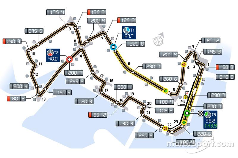 Трасса Гран При Сингапура