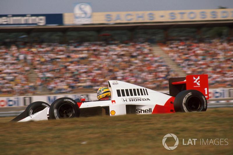 1989 Almanya: McLaren MP4/5