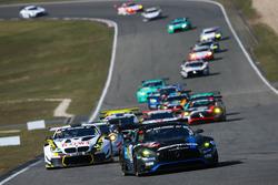 #14 AMG Team Black Falcon Mercdes-AMG GT3: Maro Engel, Adam Christodoulou, Manuel Metzger, Dirk Müller