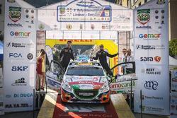 Il vincitore Tommaso Ciuffi, Peugeot 208 R2B