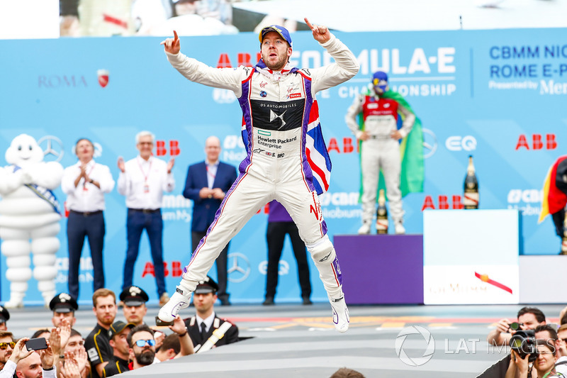 Sam Bird, DS Virgin Racing, vince l'ePrix di Roma