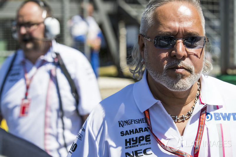 Vijay Mallya, Team Principal and Managing Director, Force India