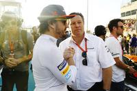 Fernando Alonso, McLaren, Zak Brown, McLaren Technology Group