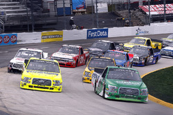 Ben Rhodes, ThorSport Racing, Ford F-150 and Matt Crafton, ThorSport Racing, Ford F-150 Ideal Door/Menards start