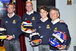 Frits van Eerd, Giedo van der Garde, Jan Lammers en Nyck de Vries, Racing Team Nederland