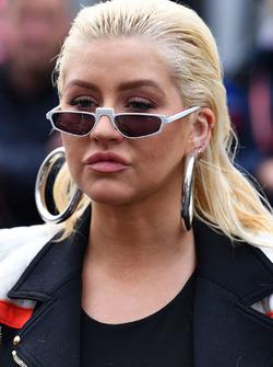 Christina Aguilera, in griglia