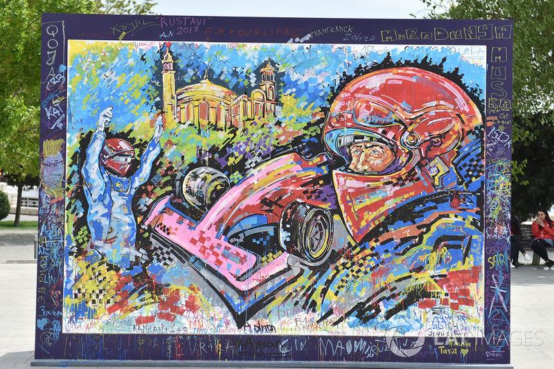 Гран Прі Азербайджану: графіті