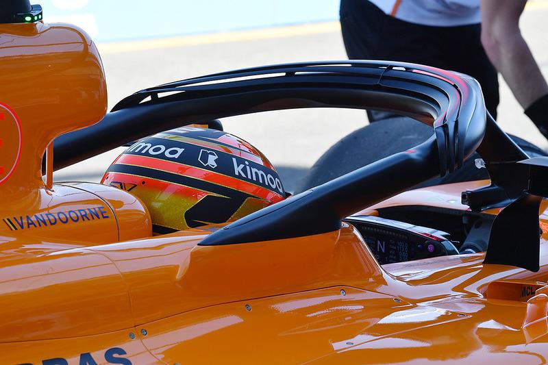 McLaren MCL33: Halo