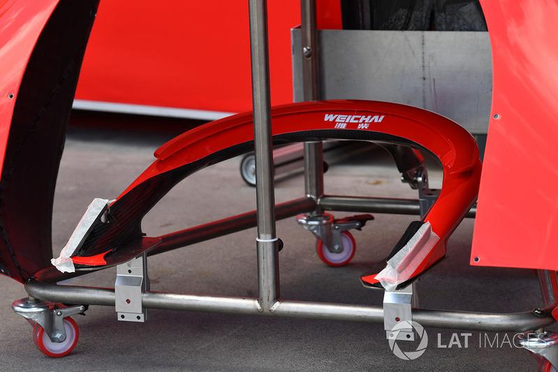 Halo от Ferrari SF71H