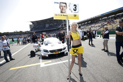 Grid girl of Paul Di Resta, Mercedes-AMG Team HWA