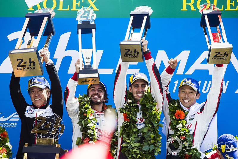 «24 часа Ле-Мана»: Себастьен Буэми, Казуки Накаджима, Фернандо Алонсо, Toyota Gazoo Racing
