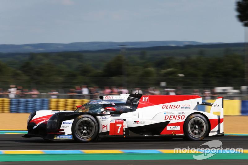 2. LMP1: #7 Toyota Gazoo Racing, Toyota TS050