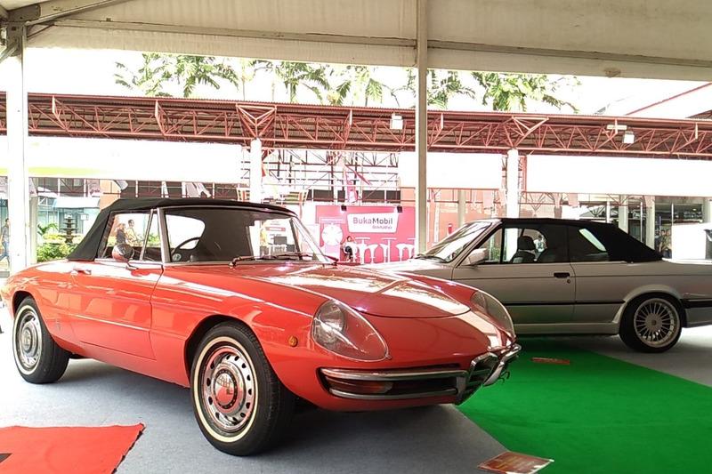 Alfa Romeo 1300 Spider Junior, BMW 325i Alpina