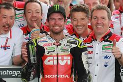 Le vainqueur Cal Crutchlow, Team LCR Honda