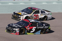 Kasey Kahne, Hendrick Motorsports Chevrolet, Ryan Newman, Richard Childress Racing Chevrolet