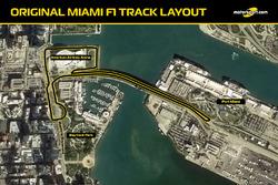 Траса Формули 1 в Маямі. Версія перша