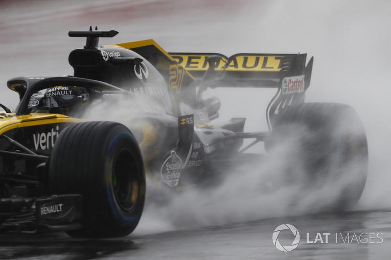 Nico Hulkenberg, Renault Sport F1 Team R.S. 18. Glenn Dunbar