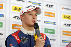 Press conference, Nikita Troitskiy, Carlin Dallara F317 - Volkswagen